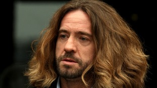 Comedian Justin Lee Collins.