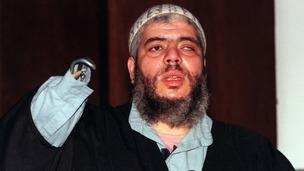 Radical cleric Abu Hamza.