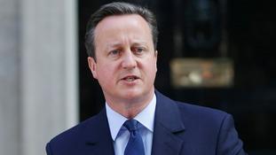 David Cameron resigned today.