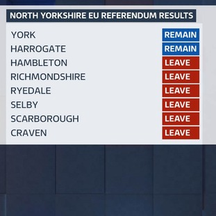 North Yorkshire referendum results