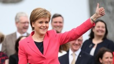 Live tweets: Nicola Sturgeon statement on Brexit