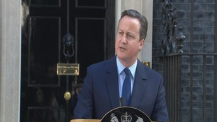 Prime Minister David Cameron resigns after vote to leave EU