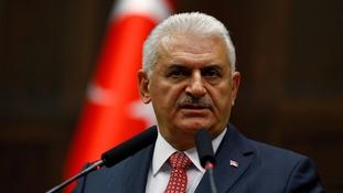Turkey's prime minister Binali Yildirim.