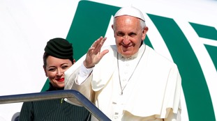 Pope Francis responded to the Brexit aboard his plane shortly after it left Rome for the Armenian capital, Yerevan.