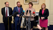 Arlene Foster welcomes the 'momentous' outcome.
