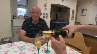 Celebrations for one farming family as Britain leaves the EU
