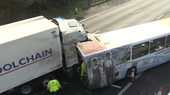 M5 Crash: Lorry Driver