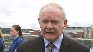 Irish republican Sinn Féin Martin McGuinness