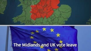 The Midlands and UK vote leave