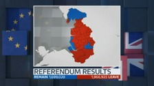 How did the North West vote in the EU Referendum? Here's a full break down