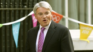 Andrew Mitchell arriving at No 10 Downing Street in September