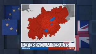 Britain votes to leave the European Union