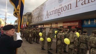 Armed Service Day in Accrington