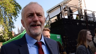 Mr Corbyn has insisted that he will stay on as Labour leader