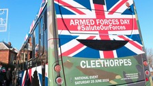 National Armed Forces Day takes place in Cleethorpes