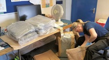 Massive haul of cannabis seized in police raid