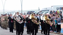 Tributes paid at Armed Forces Day