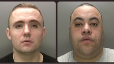 Pair jailed for after bottle attack on a sleeping man