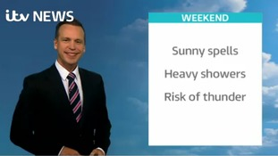 Saturday's weather for the east of the region