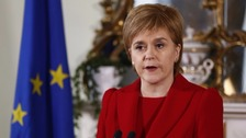 Sturgeon: Scotland to seek 'immediate' Brussels talks