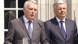 France's Foreign Minister Jean-Marc Ayrault