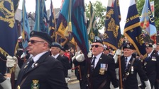 March held in Caerphilly celebrating Armed Forces Day