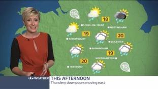 Midlands Weather: Sunshine and showers