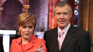 Willie Rennie (right) has vowed to support Nicola Sturgeon in Scotland's EU negotiations