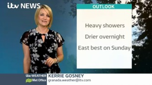 Saturday afternoon weather with Kerrie