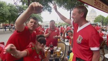 """We can go all the way!"" Wales fans confident ahead of Northern Ireland game"