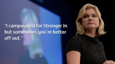 Justine Greening reveals she is in same sex relationship