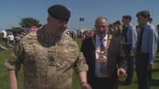 Sunderland's mayor inspects the troops