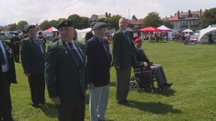 Veterans take part in the event