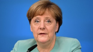 Angela Merkel said she would not 'fight' for a quick Brexit.