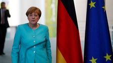 Merkel calms EU calls for quick Brexit process