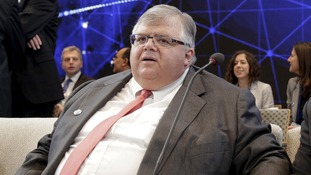 Agustín Carstens, who chaired the global economy meeting.