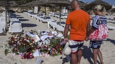 Anniversary of Tunisia attack which left 30 Britons dead