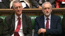 Hilary Benn is the son of former Labour politician Tony Benn