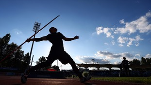 Athlete pierces his eye after falling onto javelin