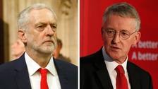 Jeremy Corbyn sacks Hilary Benn from shadow cabinet