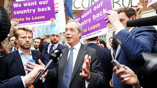Mr Farage told the Sunday Mirror there could be no turning back the clock