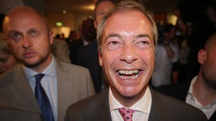 Nigel Farage campaigned for some 25 years for Brexit
