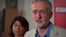 Mr Corbyn faces a wave of resignations today, a Labour source said