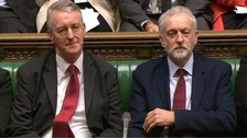 Labour in crisis after Corbyn sacks Hilary Benn from shadow cabinet