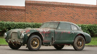 Rare 1949 Aston Martin belonging to Hertfordshire family sells at auction