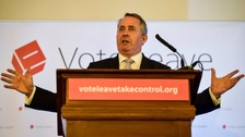 Liam Fox 'thinking about' running for prime minister