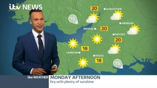 Latest weather - cloud and rain this afternoon, dry and sunny tomorrow