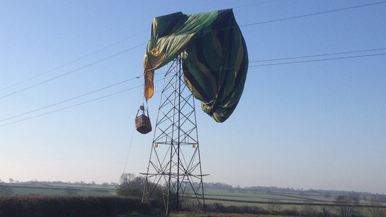 Air Balloon rescue
