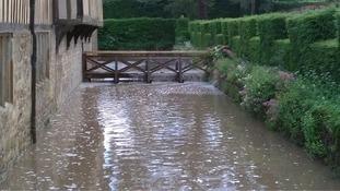 Ightham mote flooding