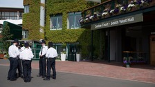 Met Police prepare security plan for Wimbledon tennis.